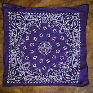 💥 Unique boho purple bandanna 💥